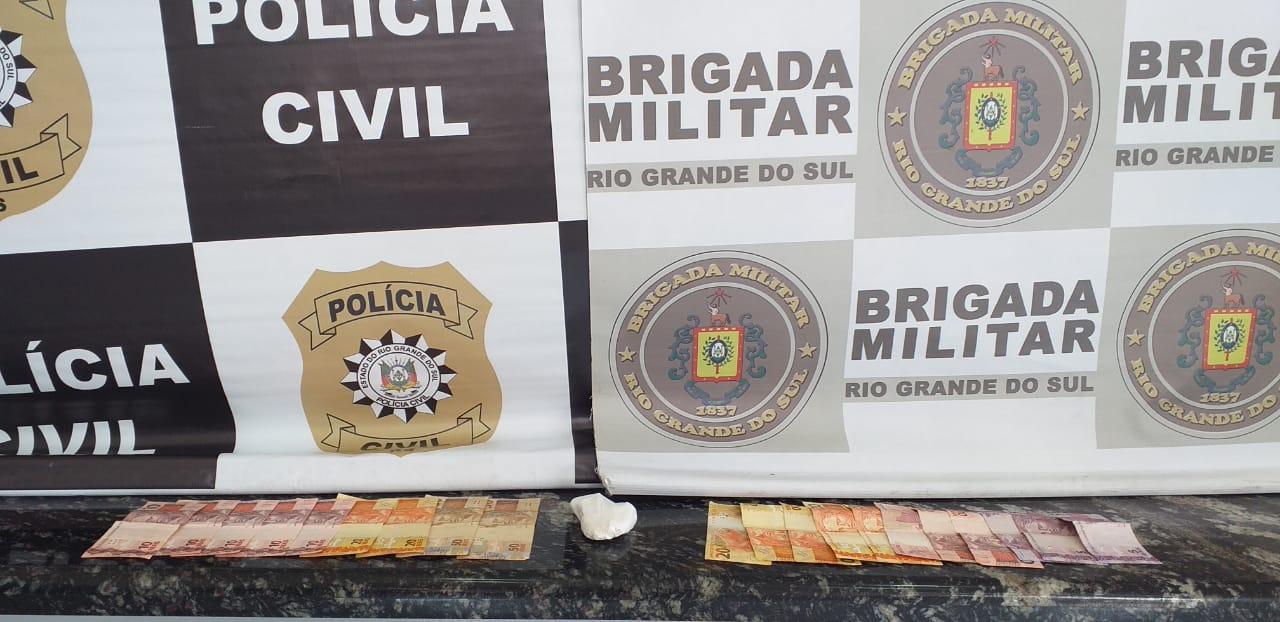 Polícia Civil e Brigada Militar realizam duas novas prisões por tráfico de drogas em Soledade
