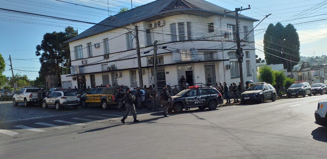 Polícia Civil e Brigada Militar cumprem mandados de prisão referente a Operação Pacta em Soledade