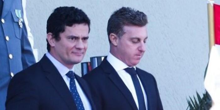 Luciano Huck e Sérgio Moro encaminham aliança para Eleições 2022