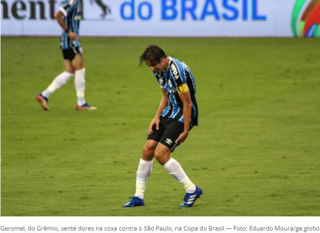 Escalação do Grêmio: Geromel deve ficar fora, mas David Braz volta contra o São Paulo