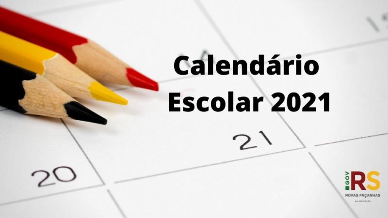 Calendário Escolar 2021 começa oficialmente no dia 8 de março