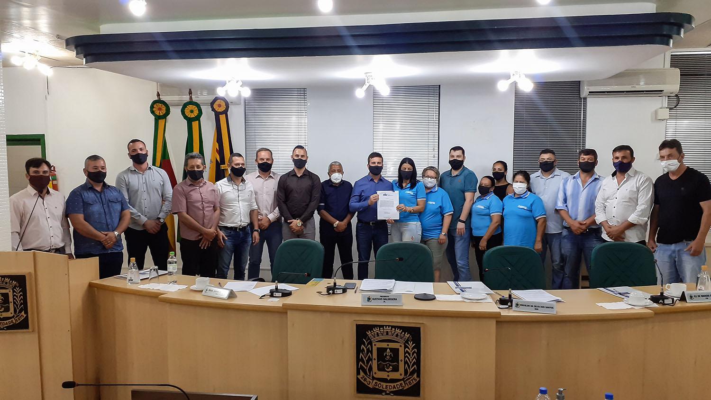 Resumo sessão ordinária Câmara de Vereadores de Soledade dia 25/01
