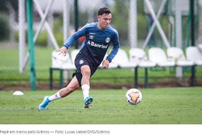 Porto quer fechar a contratação de Pepê até o fim da semana, diz jornal português