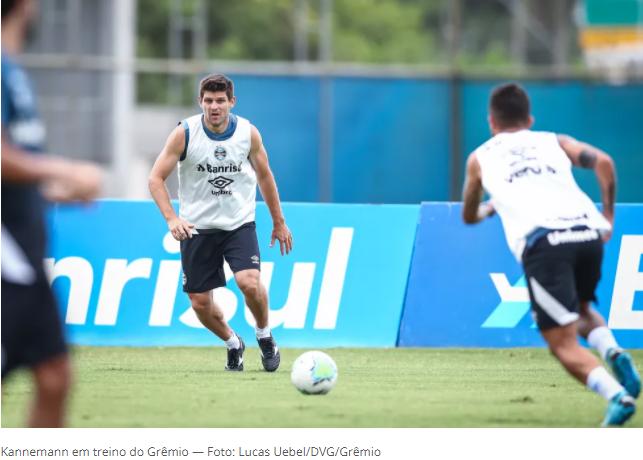 """Kannemann projeta duelo contra o Palmeiras e descarta """"prévia"""" de final da Copa do Brasil"""