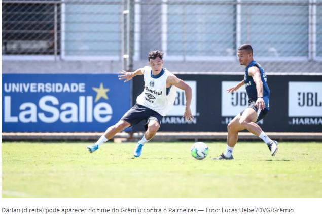 Escalação do Grêmio: Maicon treina e pode ser relacionado para enfrentar o Palmeiras