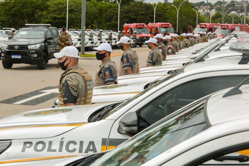 Brigada Militar recebe do governo do RS as primeiras 53 viaturas semiblindadas