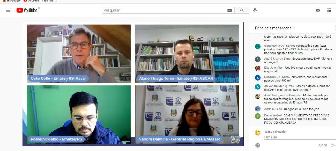 Mesa Redonda Virtual aborda mudanças no Plano Safra 2021/2022
