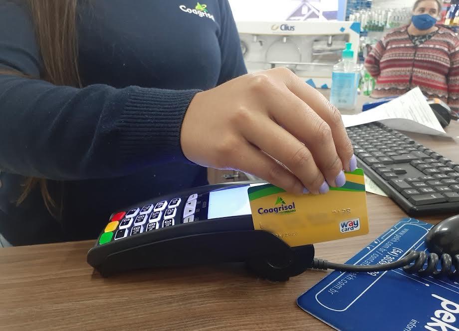 Compras com Cartão Coagrisol agora podem ser parceladas em até 10x