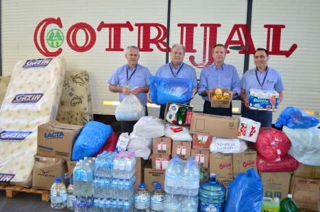 Campanha da Cotrijal  arrecada 2,5 toneladas em doações para atingidos pelas chuvas