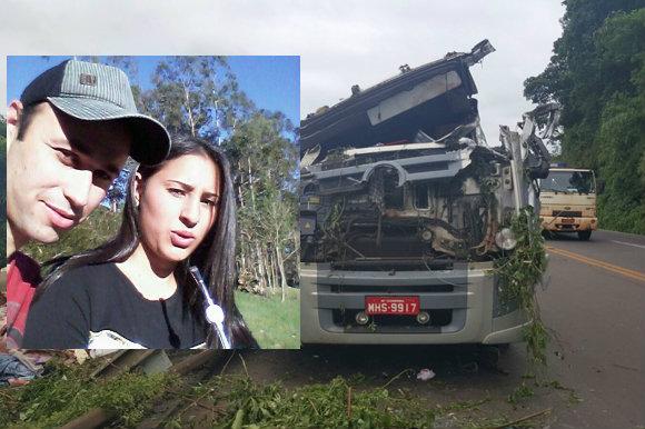 Casal de Soledade morre em acidente na BR 386