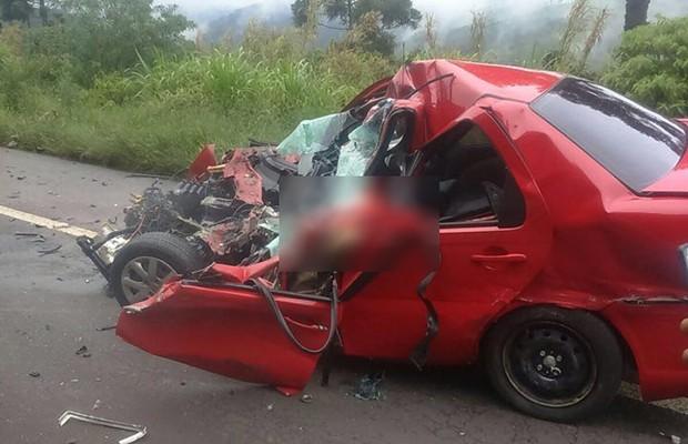 Identificada vítima de acidente na BR 386 em Pouso Novo