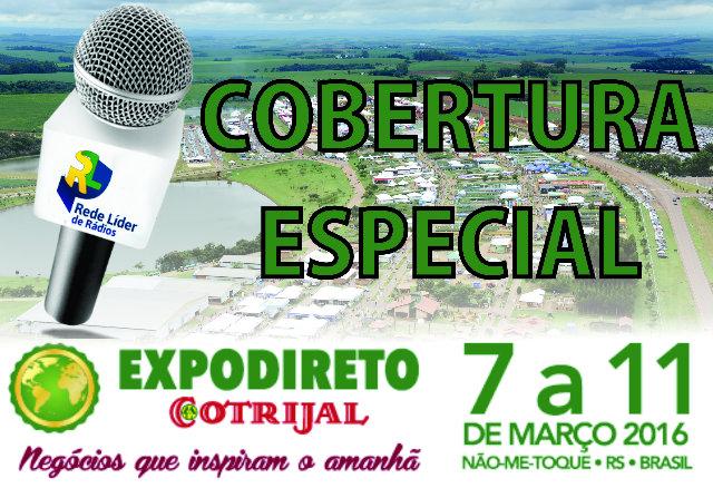 Rede Líder realiza cobertura especial da EXPODIRETO COTRIJAL 2016
