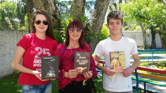 Projeto torna alunos do Colégio Garra em autores de livros