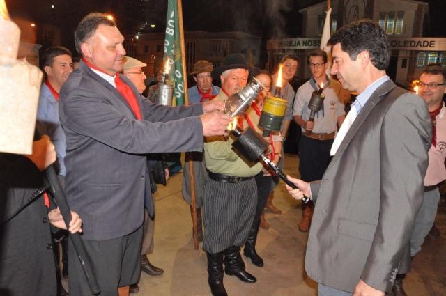 Aberta oficialmente a Semana Farroupilha no município de Soledade
