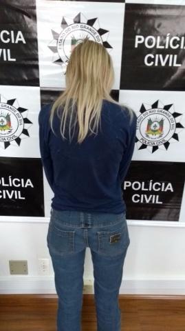 Mulher é presa em Ibirubá pelo crime de tráfico de drogas e associação