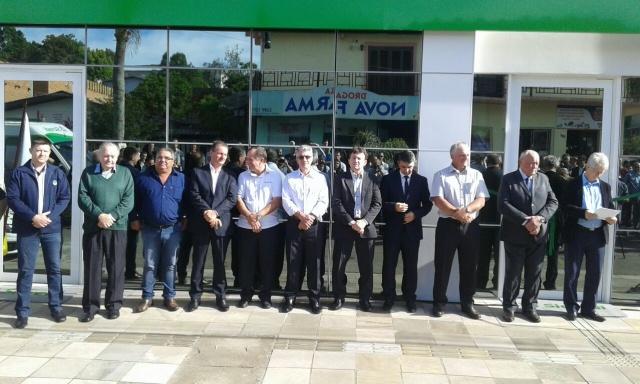 Sicredi inaugura agência em novo padrão em Fontoura Xavier
