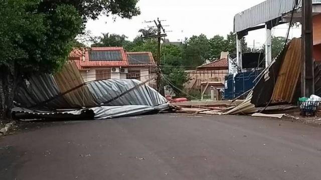 Município de Ibirubá registra estragos com o temporal desta sexta-feira, (03)