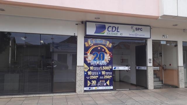 Entrega de cheques de R$1500 da Promoção CDL Soledade é 10 serão entregues nesta quarta-feira