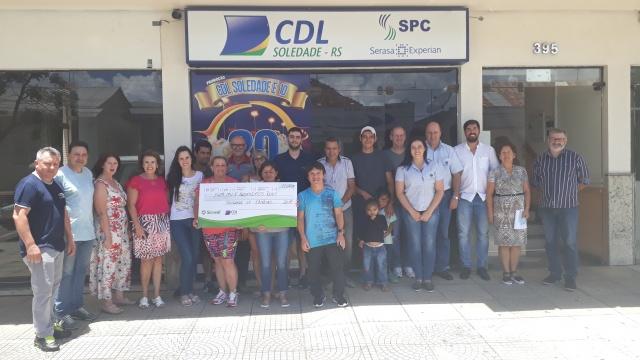CDL Soledade é 10 2017 entrega R$15 mil em cheques a participantes sorteados na promoção