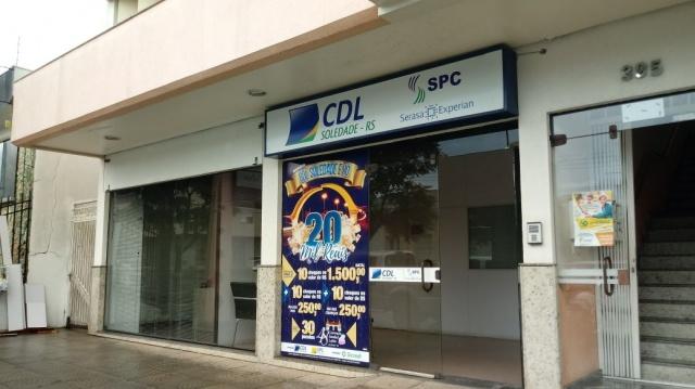 Auditório da CDL Soledade passa reformas e entidade pleiteia terreno para construção de nova sede