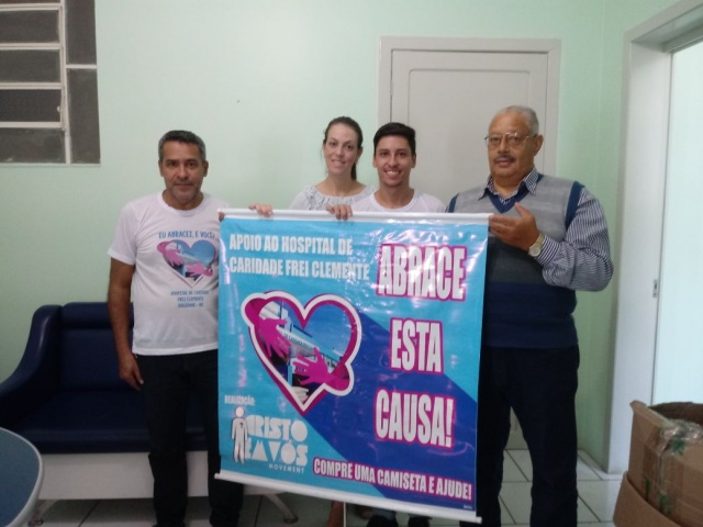 Grupo Cristo em Vós repassa mais de R$8 mil para HCFC de Soledade