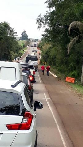 Operário morre atropelado por caminhão em Tio Hugo