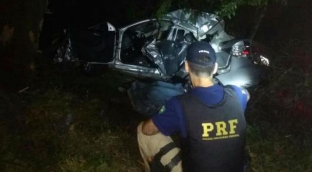 Motorista perde controle de carro e acidente mata casal em Eldorado do Sul