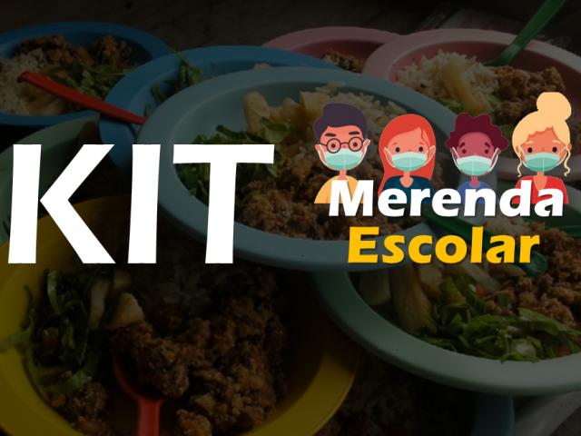 Nova distribuição dos Kits alimentação será realizada a partir de amanhã
