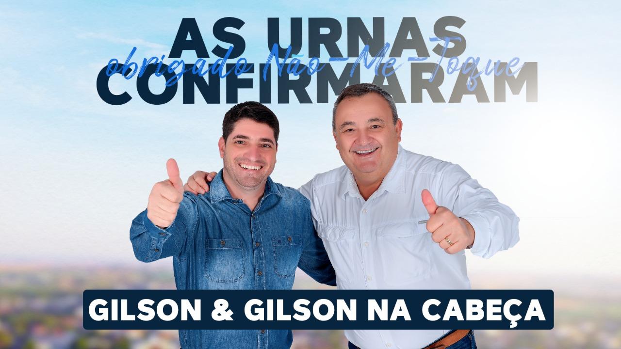 Não-Me-Toque confirma Gilson e Gilson nas urnas
