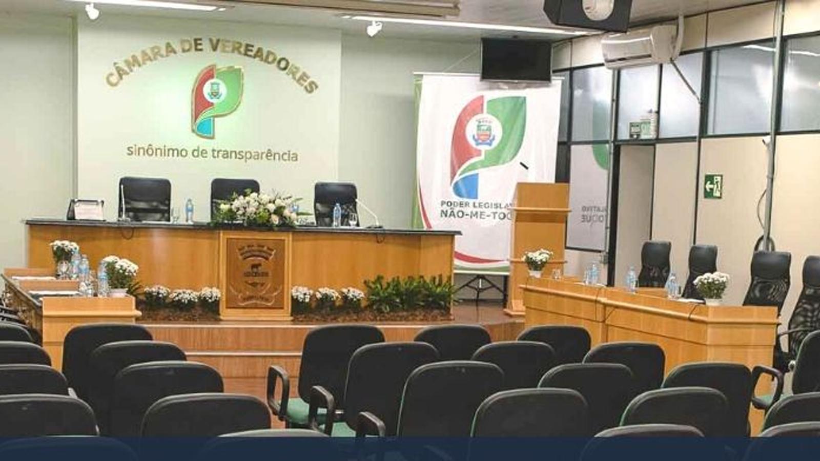 Câmara de Vereadores de Não-Me-Toque realiza 11ª sessão ordinária do ano