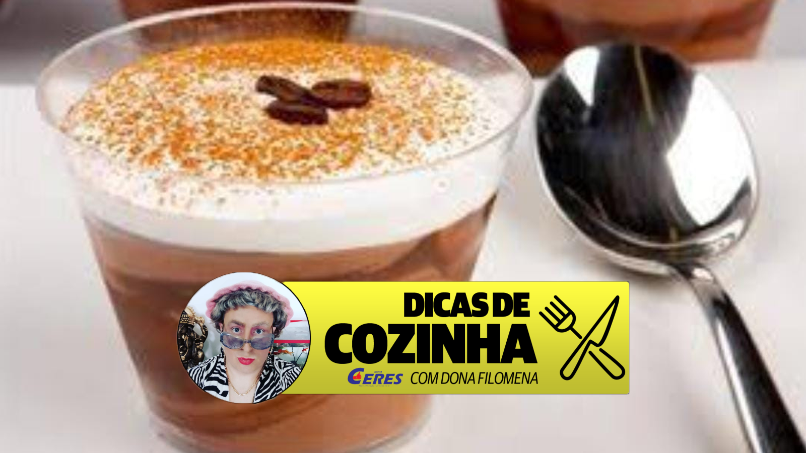 Dicas de Cozinha 28/04: Mousse de cappuccino – Sobremesa de Inverno