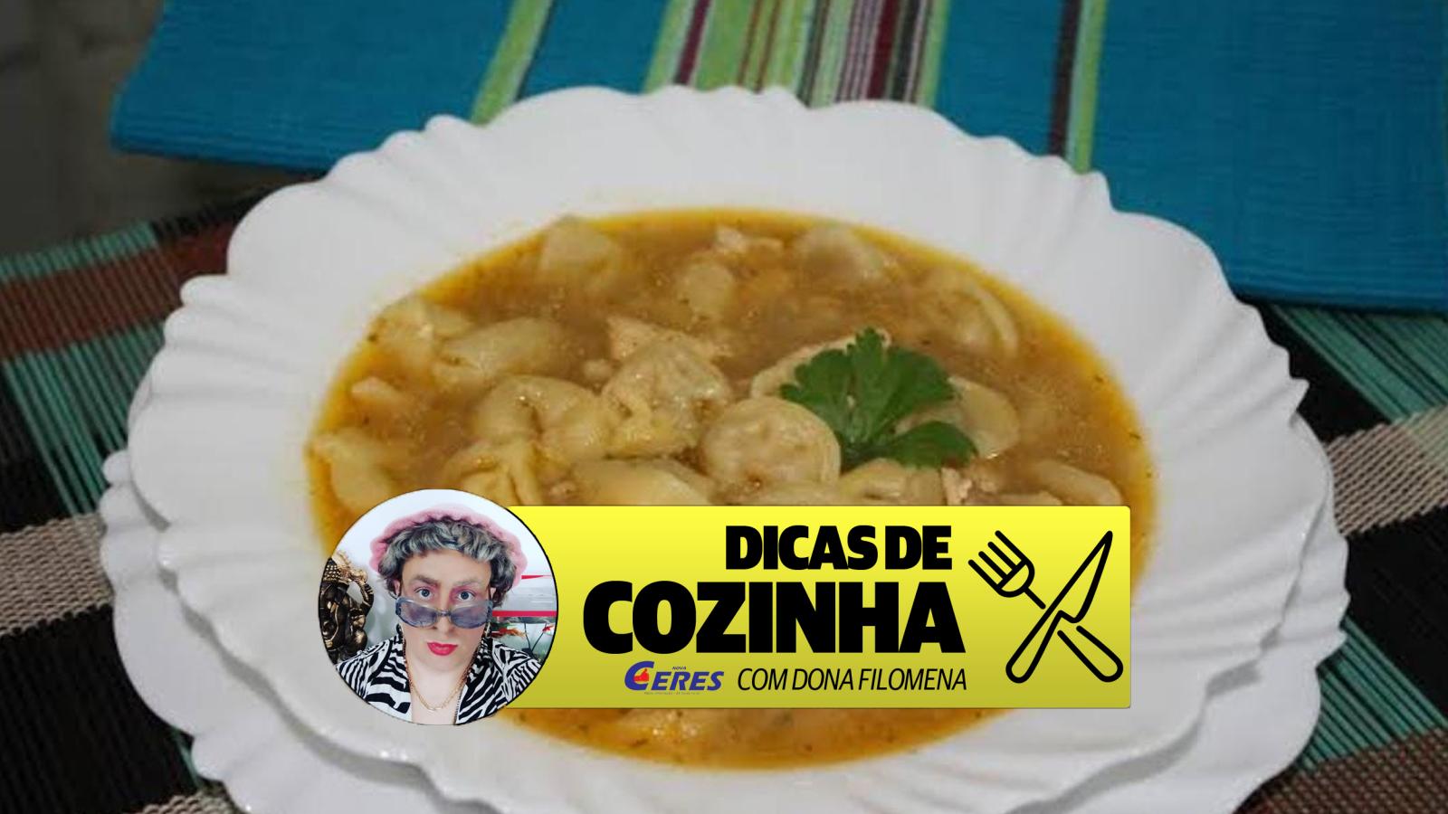 Dicas de Cozinha 23/04: Sopa de capeletti com ovo