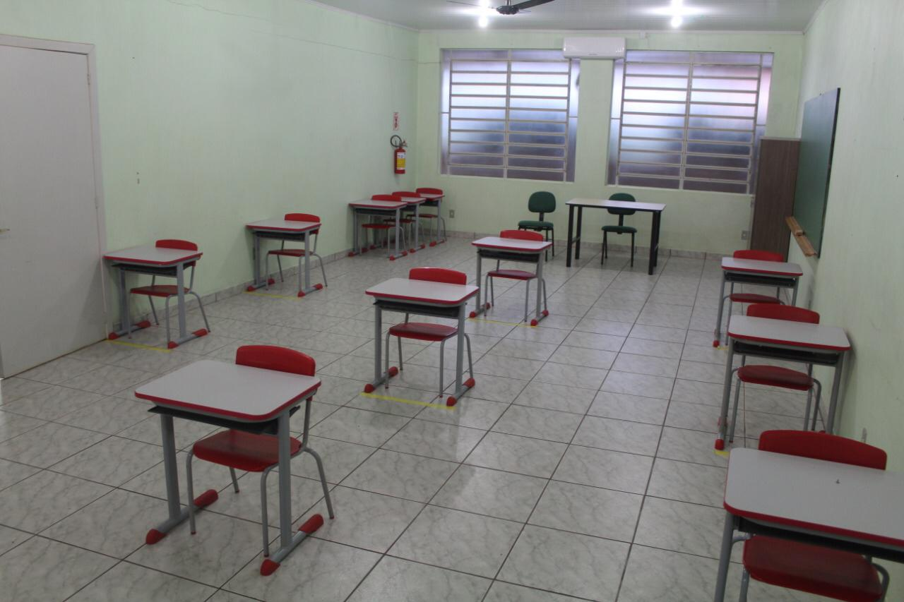 Victor Graeff tem retorno das aulas presenciais na Rede Municipal de Ensino