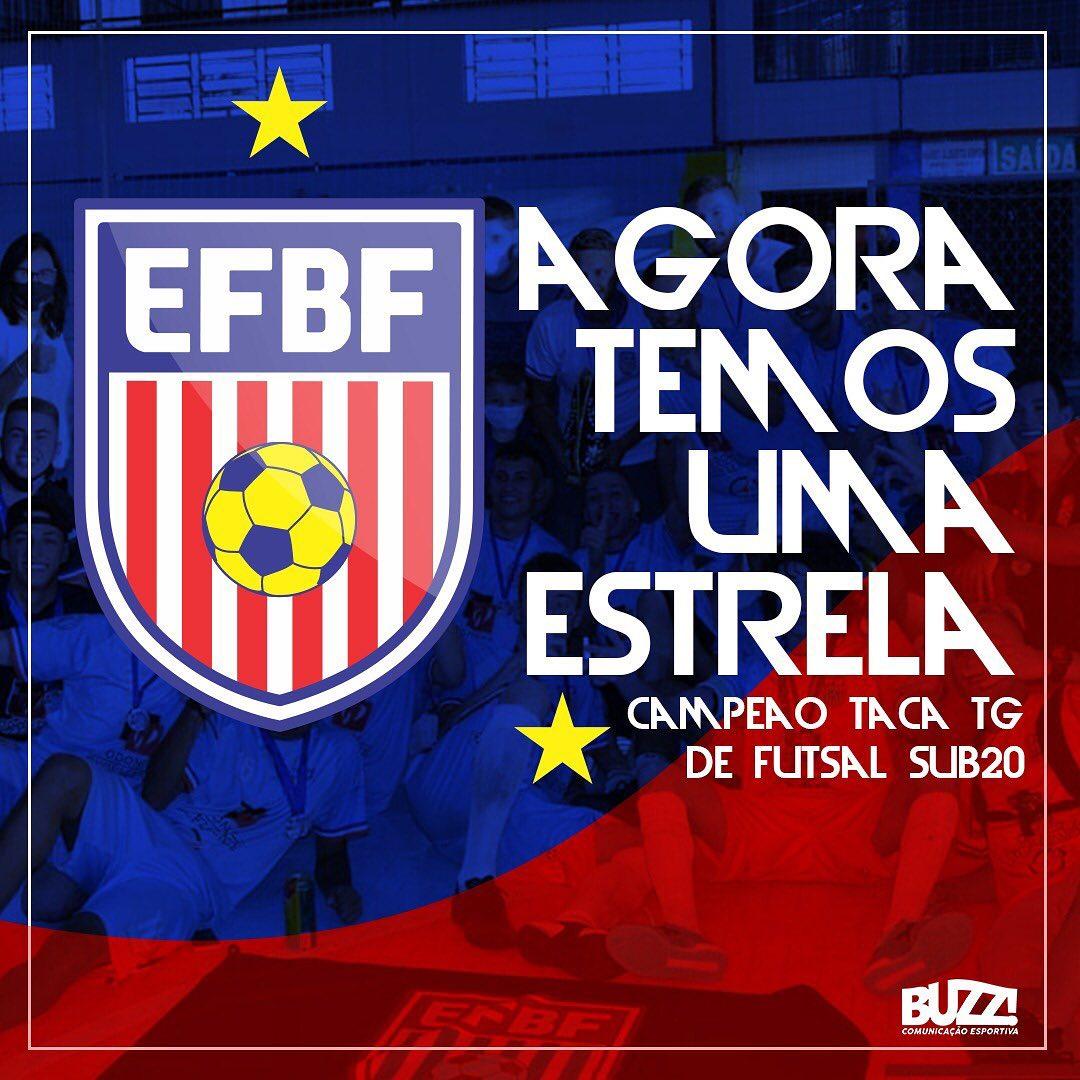EFBF de Não-Me-Toque apresenta novo escudo e confirma equipe em competições de 2021