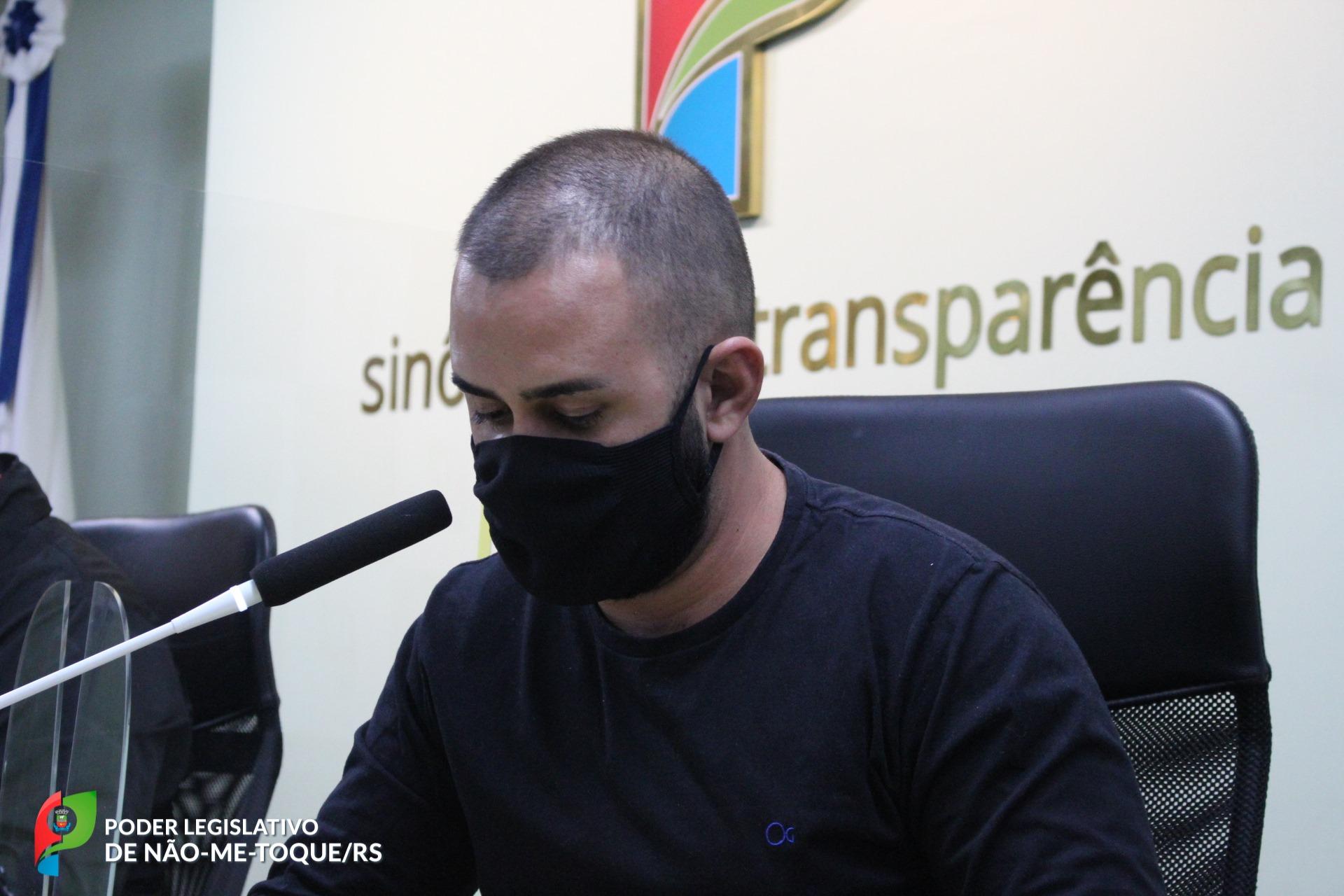 Vereador Charles Morais pede licença da Câmara de Não-Me-Toque