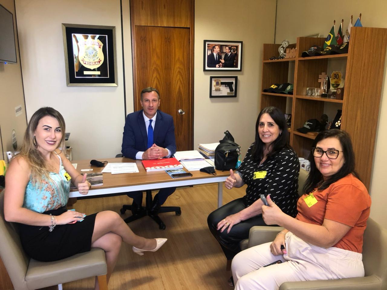 Em Brasília, deputado federal Sanderson recebe Grupo Ceres e destaca temas de interesse da comunidade