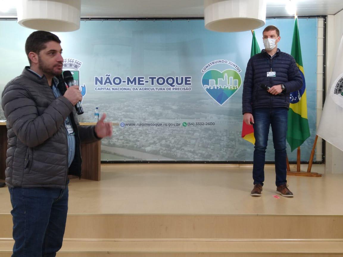 Não-Me-Toque apresenta PPA 2022/2025 com destaque para investimentos