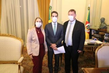 Comaja se reúne com governador para discutir situação da pandemia na região