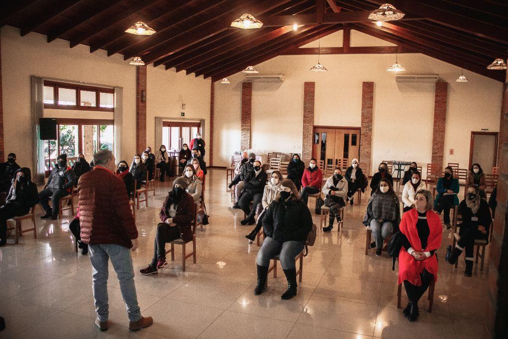 Professores da Rede Municipal de Não-Me-Toque participam de oficinas nesta segunda e terça-feira