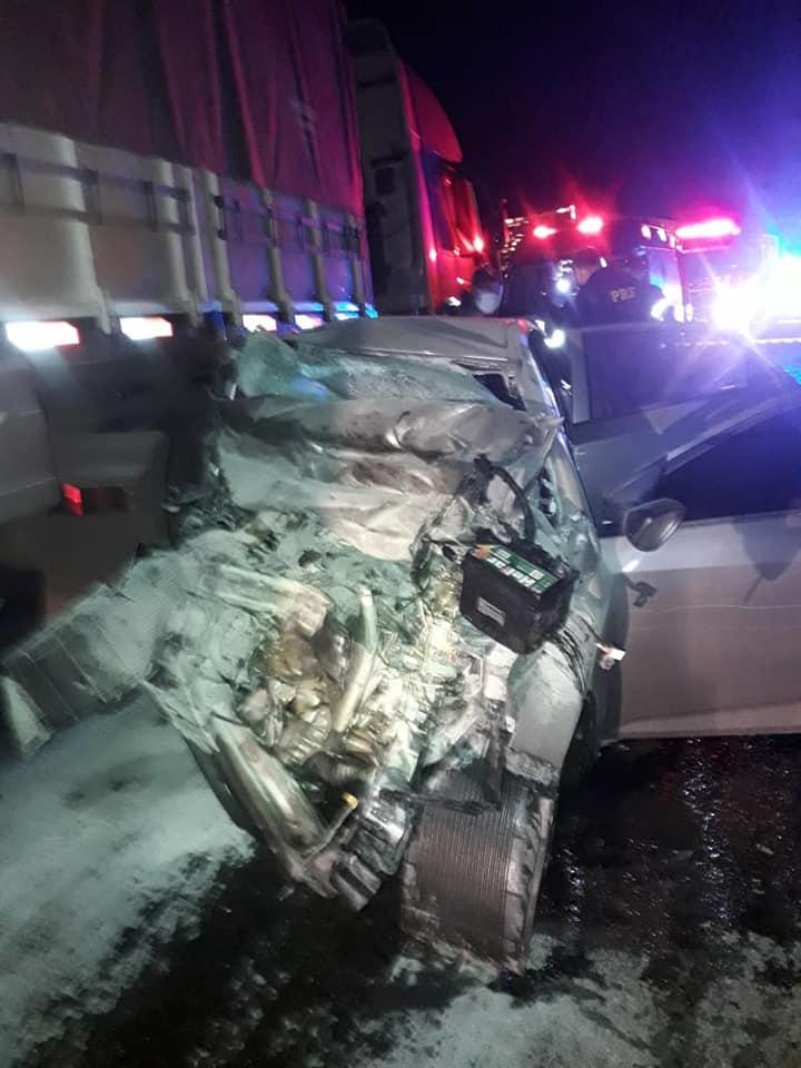 Quatro mulheres de um mesmo veículo morrem em acidente em Tio Hugo