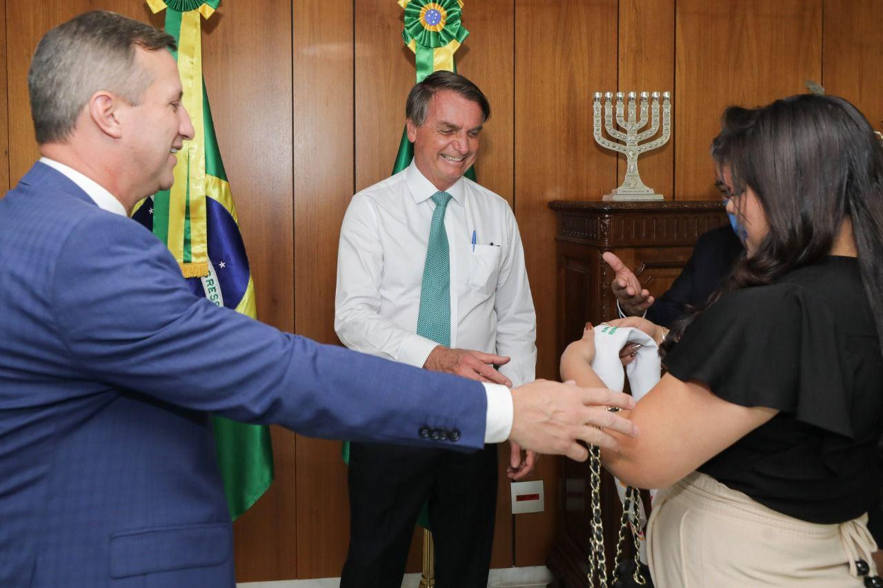 Bolsonaro recebe convite para visitar Passo Fundo no dia 20 de setembro