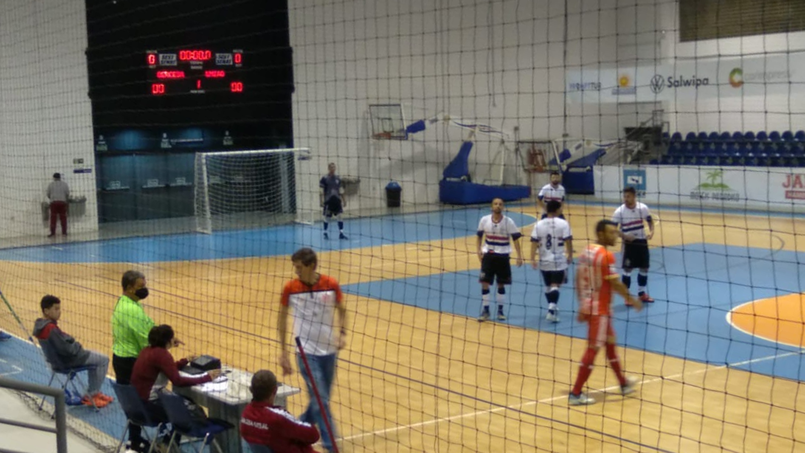 Fora de casa, União Santo Antônio Futsal empata com a Sercesa na Copa Regional