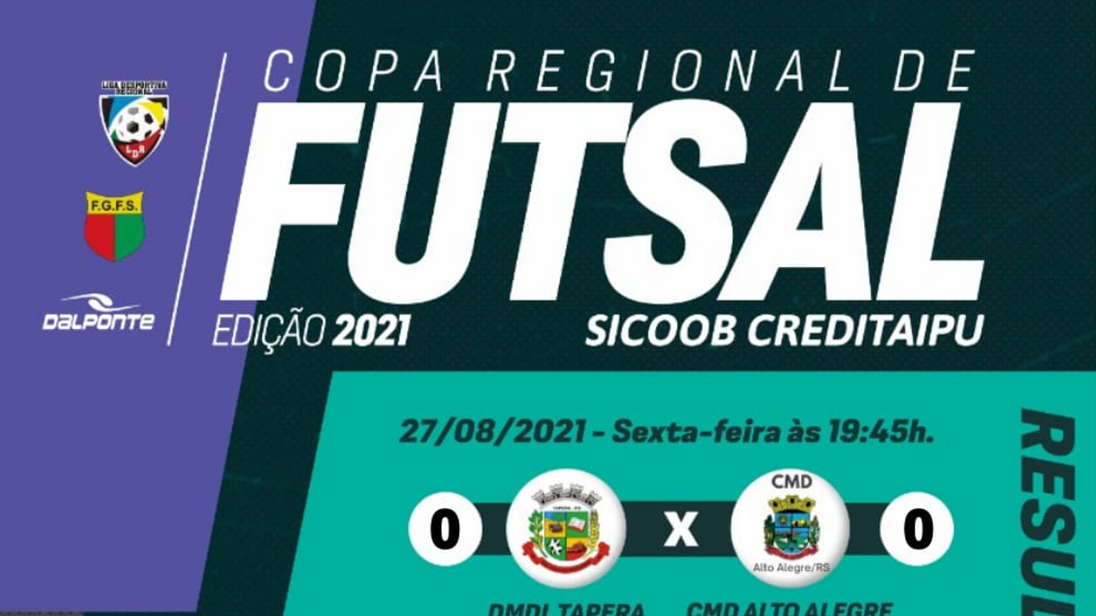 Confira os resultados e classificação após a 4ª rodada da Copa Regional de Futsal