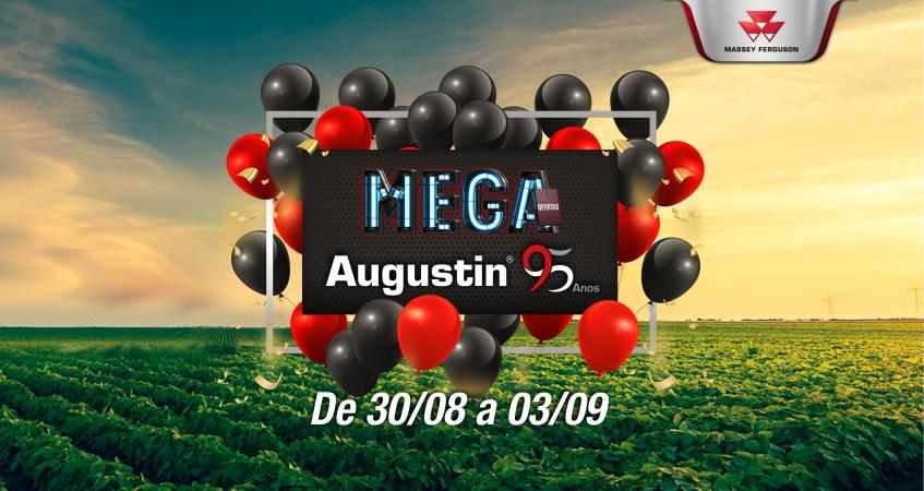 Semana de aniversário da Augustin inicia com mais uma edição de Mega Ofertas!
