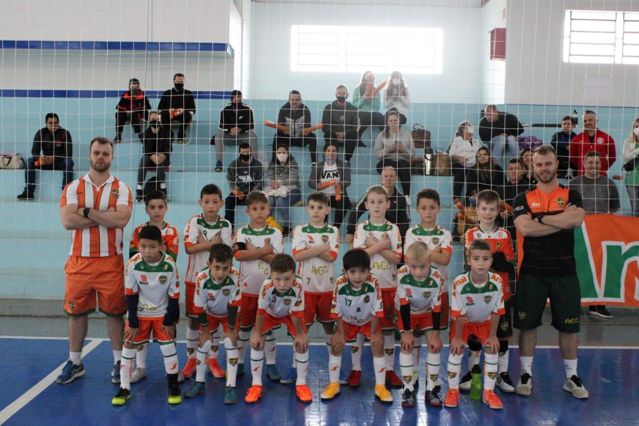 Arsenal estreia com vitórias na Taça TG Sub-9 de Futsal