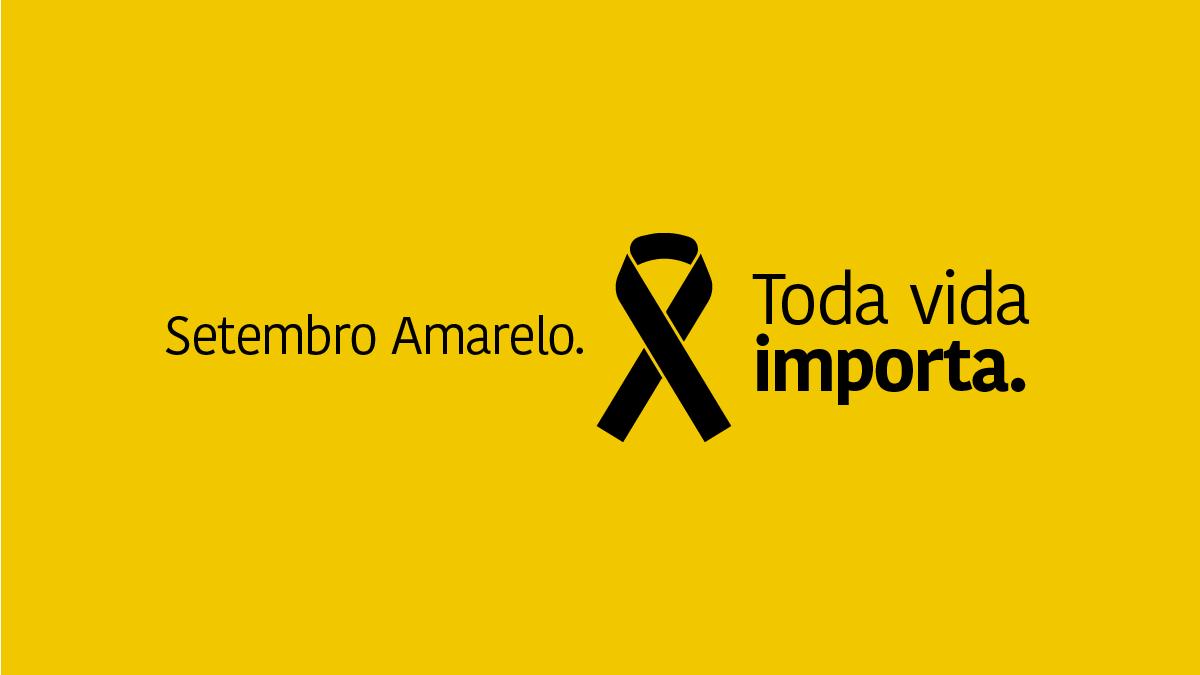 Campanha Setembro Amarelo começa em âmbito nacional