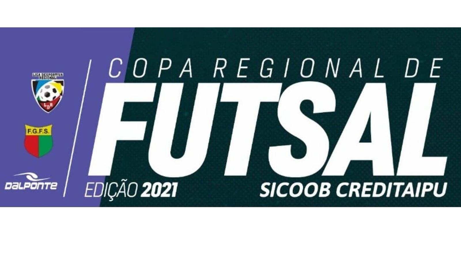 Copa Regional de Futsal tem semifinais definidas