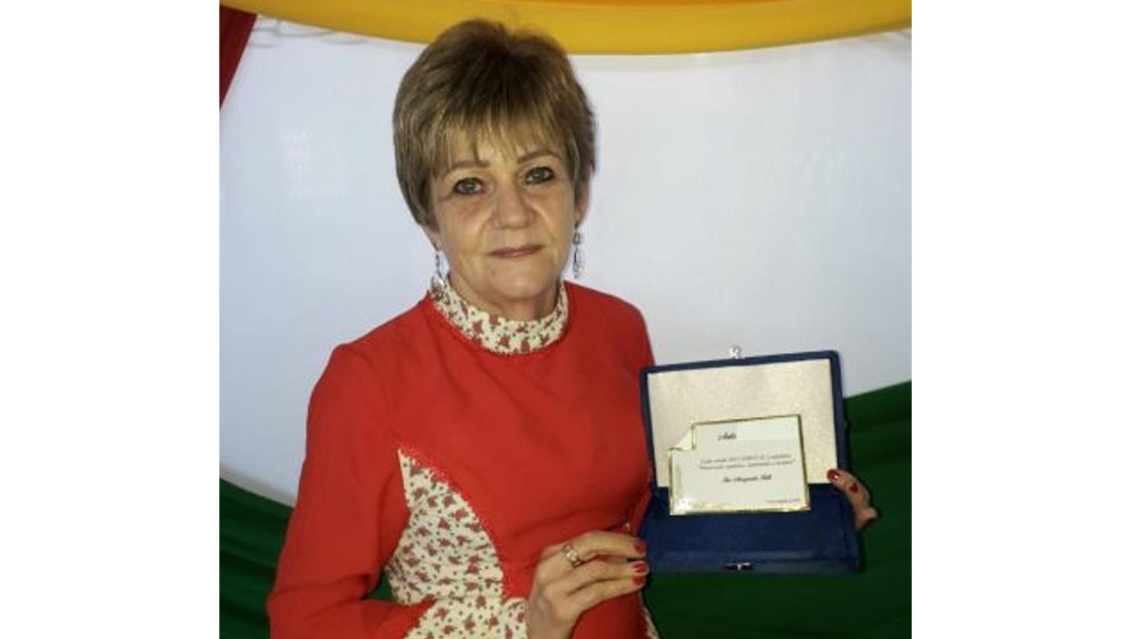 """Professora Ires Fath recebe a homenagem """"Caminhos de Anita"""" em Lagoa dos Três Cantos"""