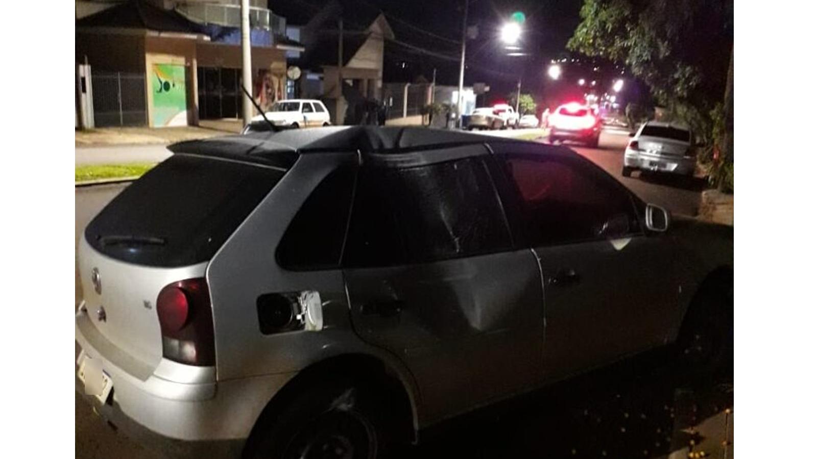 Acidente de trânsito na principal avenida de Tapera deixa uma pessoa ferida