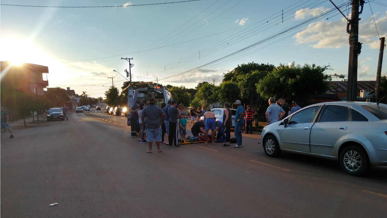 Ciclista ferido em acidente no feriado em Não-Me-Toque recebe alta do Hospital